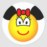 Minnie Mouse emoticon   sticker_sheets
