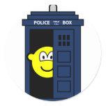 Dr Who buddy icon Tardis  sticker_sheets