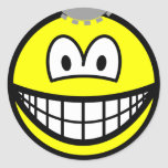 Thinking smile Cogs  sticker_sheets