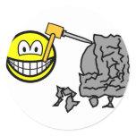Sculptor smile   sticker_sheets