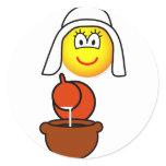 Dutch milk maid emoticon   sticker_sheets