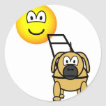 Guide dog emoticon   sticker_sheets