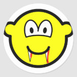Vampire buddy icon (after lunch)  sticker_sheets