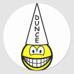 Dunce smile   sticker_sheets