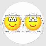 Gay Marriage emoticons Female  sticker_sheets