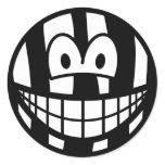 Zebra smile   sticker_sheets