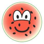 Watermelon emoticon   sticker_sheets