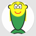 Mermaid buddy icon   sticker_sheets
