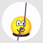 Abseiling emoticon   sticker_sheets