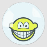 Smile living in a bubble   sticker_sheets