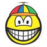 Propeller cap smile   sticker_sheets