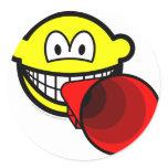 Megaphone smile old  sticker_sheets
