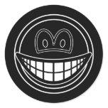 Black hole smile   sticker_sheets