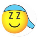 Sleeping cap emoticon   sticker_sheets