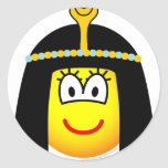Cleopatra emoticon   sticker_sheets