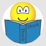 Reading emoticon   sticker_sheets
