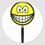 Magnifying glass smile   sticker_sheets
