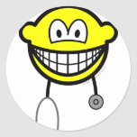 Doctor smile Stethoscope  sticker_sheets