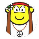 Hippie buddy icon   sticker_sheets