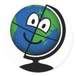 Globe emoticon   sticker_sheets