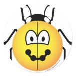 Ladybird emoticon   sticker_sheets