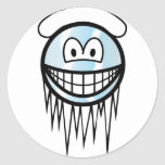 Cool smile With snow  sticker_sheets