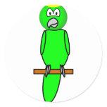 Parrot emoticon   sticker_sheets