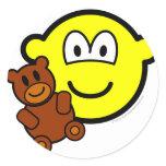Teddy bear toy buddy icon   sticker_sheets