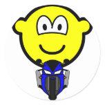Pocket bike buddy icon   sticker_sheets