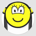 Black haired buddy icon   sticker_sheets
