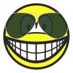 Aviators smile Sunglasses   sticker_sheets