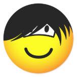 Emo emoticon   sticker_sheets
