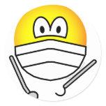 Dentist emoticon   sticker_sheets