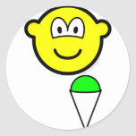 Snowcone eating buddy icon   sticker_sheets