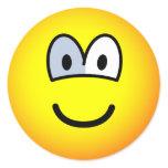 Glass eye emoticon   sticker_sheets