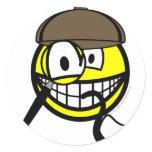Sherlock Homes smile   sticker_sheets