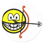 Sagittarius smile Zodiac sign  sticker_sheets