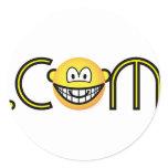 Dot com emoticon   sticker_sheets