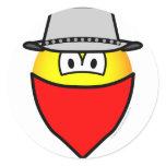 Bandit emoticon   sticker_sheets