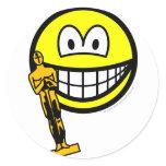 Oscar winning smile   sticker_sheets