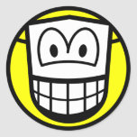Masked smile Theatre  sticker_sheets