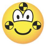 Crash test dummy emoticon   sticker_sheets