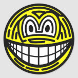 Finger print smile   sticker_sheets
