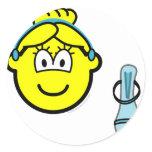 Cinderella buddy icon slipper  sticker_sheets