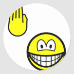 High five smile   sticker_sheets