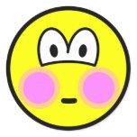 Blushing smile   sticker_sheets