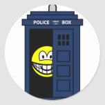 Dr Who smile Tardis  sticker_sheets