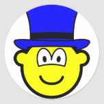 Blue hat buddy icon Six Thinking Hats - Control of Thinking  sticker_sheets