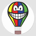 Balloon smile Colorful  sticker_sheets