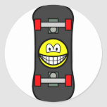 Skateboard smile   sticker_sheets